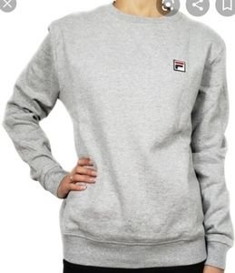 Fila sweatshirt Heather gray heritage crew neck